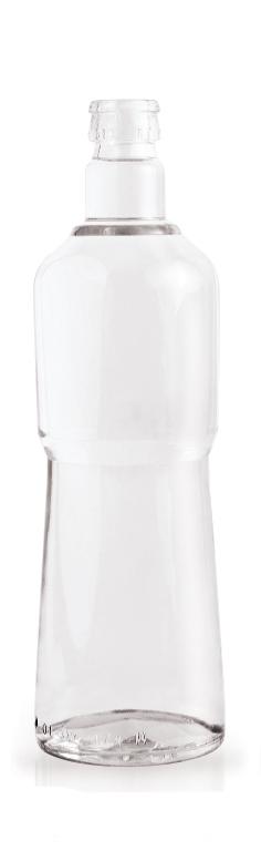 стеклянная бутылка кпм 700