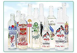 декорирование бутылок из стекла
